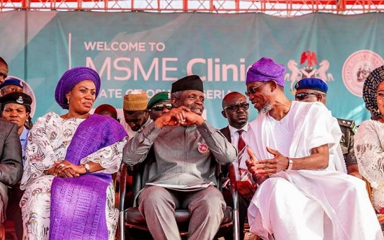 Osinbajo launches  MSME in Osun, says FG, state committed to human, capital developments