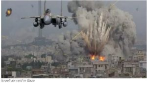 Israeli air raid in Gaza