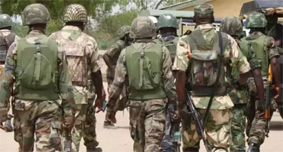BREAKING: Soldiers on rampage in Bomadi over shooting of colleague by police