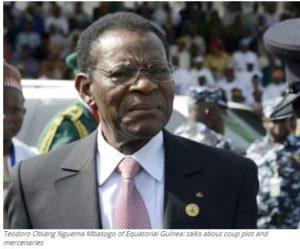 Teodoro Obiang Nguema Mbasogo of Equatorial Guinea: