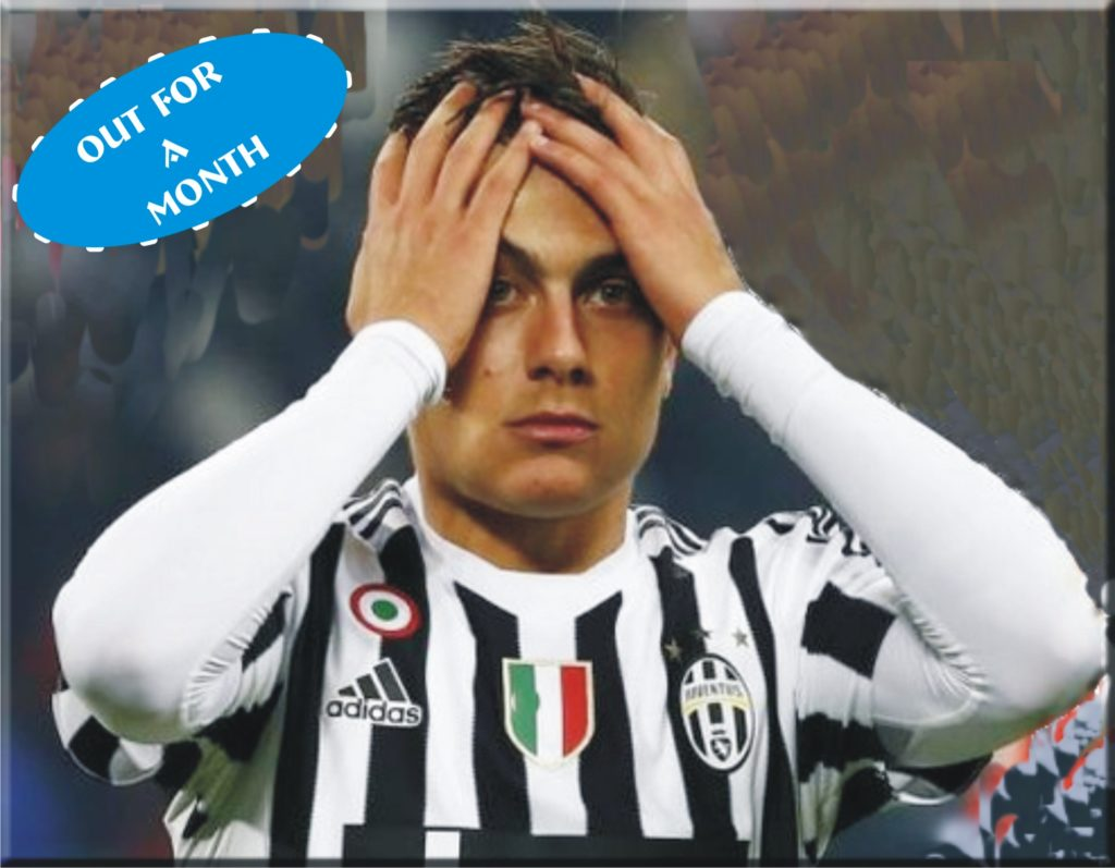 Juventus player, Dybala, girlfriend, test positive for coronavirus