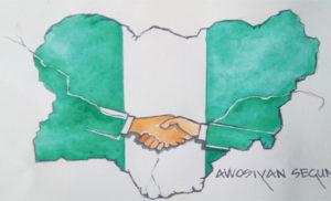 Handshake Across the Niger summit