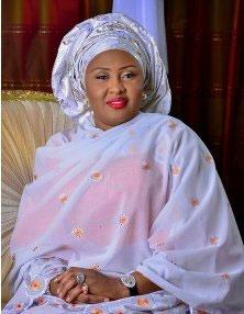 Aisha Buhari commiserates with late Sheikh Isyaku Rabiu's family in Kano