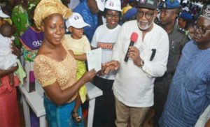 Governor of Ondo State Governor, Oluwarotimi Odunayo Akeredolu, has flagged off accelerated birth registration