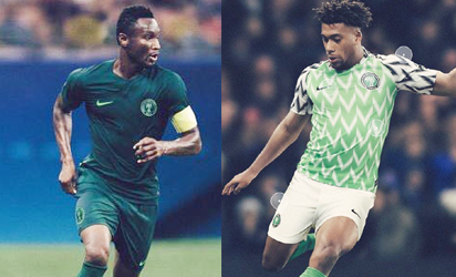 official photos 19f8e c7ee9 NFF, Nike unveil Eagles' jersey in London - Vanguard News