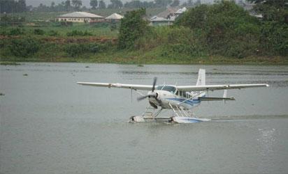 First seaplane lands in Bayelsa