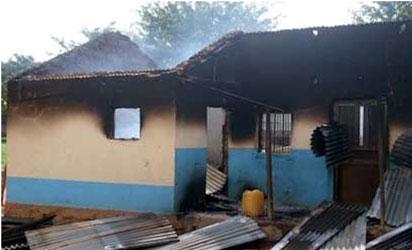 House burnt in Kaduna