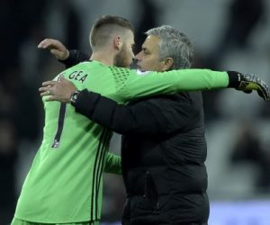 Mourinho and David de Gea