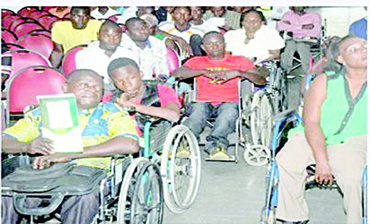 People with disability, PWDs