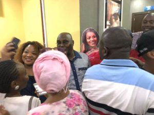 Atiku at SilverBird to watch Black Panther