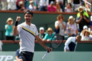 Federer survives scare, to face Del Potro in Indian Wells final