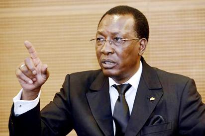 President Idriss Deby of Chad