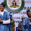 Buhari, Lalong, Dalung, COCIN Executives meet in Aso Rock