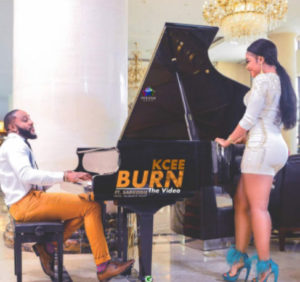 Kcee drops first official video, Burn, in 2018
