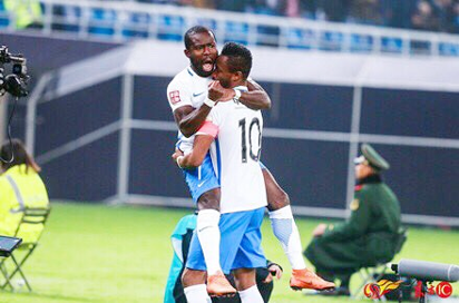 Tianjin Teda's first win of the season excites Mikel Obi