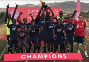 Ablaze FC wins Bayern Youth Cup tournament