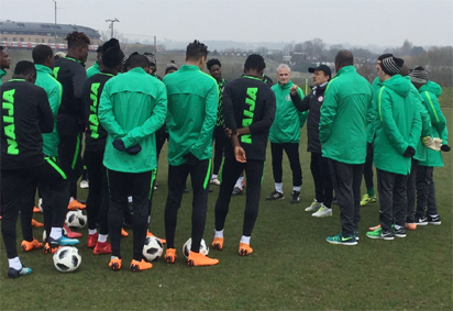 Journalists applaud Rohr's 30-man Super Eagles provisional list