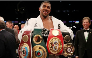 BREAKING: Anthony Joshua defeats Joseph Parker in world heavyweight clash