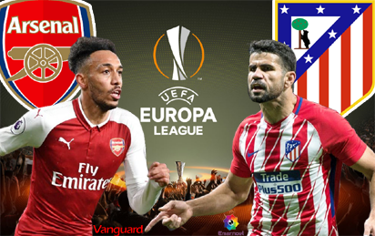 Arsenal Were Handed A Mouth Watering Clash Against Tournament Favourites Atletico Madrid In Fridays Draw For The Semi Finals Of The Europa League