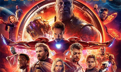 'Avengers: Infinity War' tops North American box office again