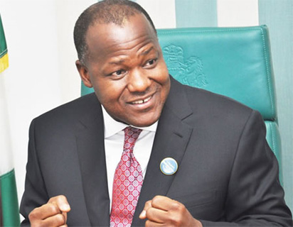 Breaking: Dogara dumps PDP, meets Buhari in Aso Rock