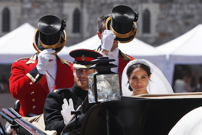 Harry and Meghan Markle marry in emotional star-studded pageant