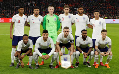 Russia 2018: Southgate selects youthful England squad for World Cup