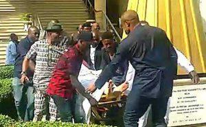 Breaking: Olisa Metuh collapses in court