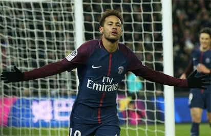Neymar named France's player of the year