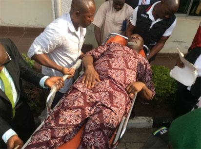 Melaye's lawyer explains why he is in police custody