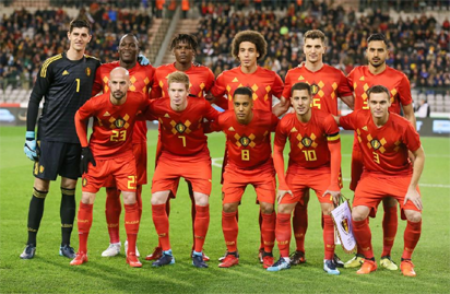 Belgium cruise past Egypt to settle FIFA World Cup 2018 nerves