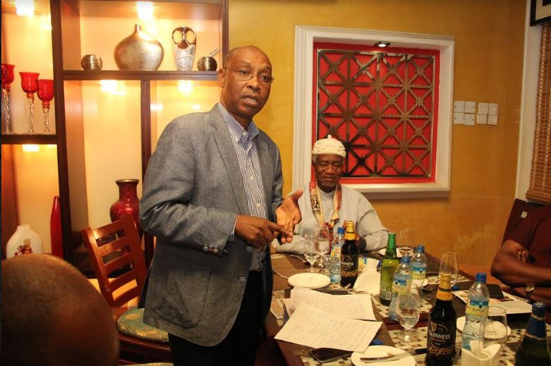 Dr. Orji O. Orji one of the discussants at the event.