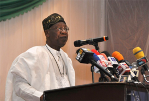 Minister of Information and Culture, Alhaji Lai Mohammed