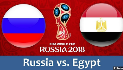 Russian Federation v Egypt 19 June 2018