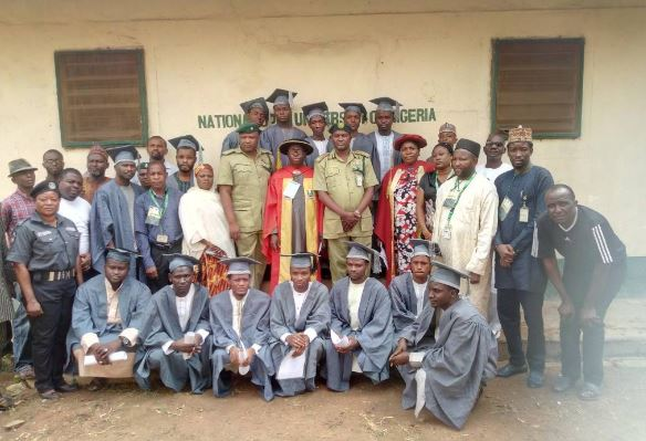 The Shiite Inmates newly admitted into NOUN for degree, post-graduate degree programmes