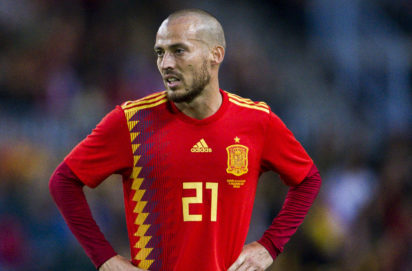 Manchester City's David Silva retires from international football