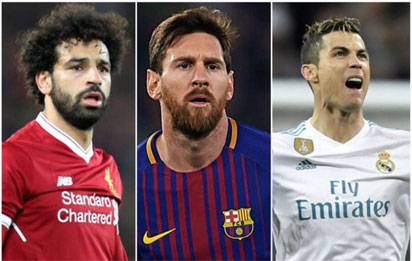 Salah nominated for Champions League Forward of the Season