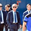 Genoa football teams attend Italy bridge victims' funeral