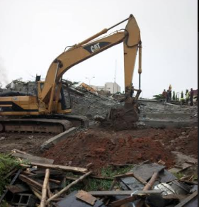 Abuja collapsed building