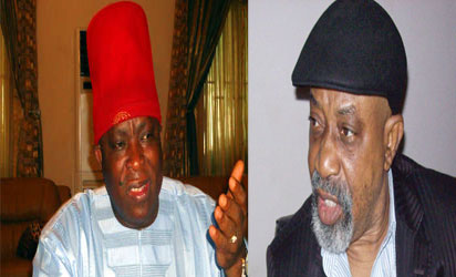 Victor Umeh and Chris Ngige