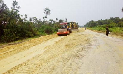 •Ongoing Bomadi-Gbaregolor-Esanma-Akugbene-Ezebiri road project