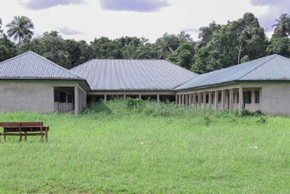 Abandoned health centre project