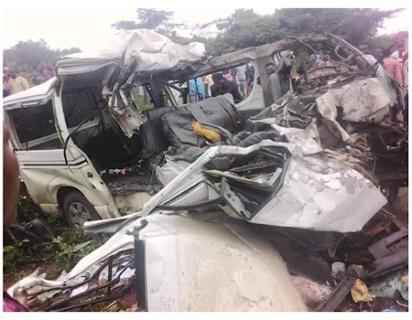 18 passengers crushed in Ekiti road crash