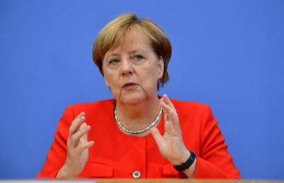 Merkel: World needs to act after hearing youth 'wake-up call'