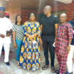 Fayose receives Fayemi's wife, conducts her round Govt. House