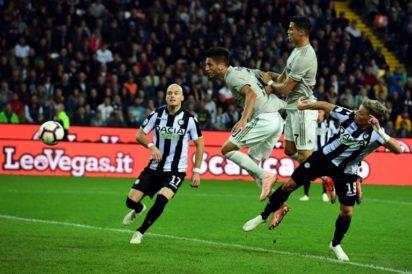 Embattled Ronaldo scores for Juventus against Udinese