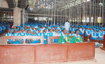 A cross section of some students in Nsukka