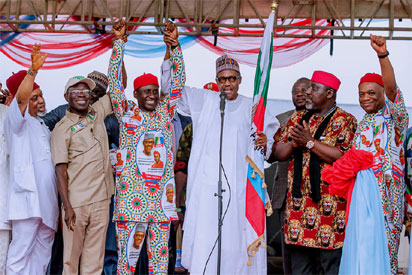 Buhari in Bayelsa, restates commitment to infrastructural development, fight against corruption 2