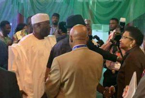 Photos: Buhari, Atiku meet face-to-face to sign Second Peace Accord 4