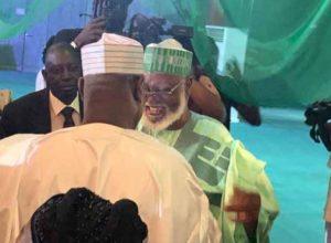 Photos: Buhari, Atiku meet face-to-face to sign Second Peace Accord 6